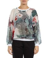 GAELLE BONHEUR MAGLIA GBD296 FLOREALE maglia maniche lunghe donna