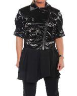 BELSTAFF ARUN BLOUSON LADY NERO LUCIDO 721289 giacca leggera primavera/estate donna