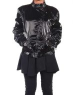 BELSTAFF SHELT BLOUSON LADY NERO LUCIDO 721309 giacca leggera primavera/estate donna