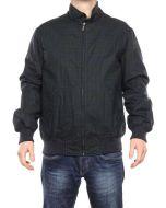 GANT HIGHLAND BLACKWATCH WAISTER SCOZZESE NAVY/VERDE SCURO 70219 giacca medio peso invernale uomo