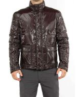 BELSTAFF GADWALL JACKET MARRONE 710697 giacca invernale piumino uomo