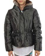 PEUTEREY PARADIGMA VERDE METALLICO giacca invernale bambina