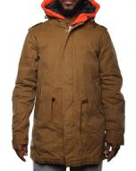 SCOTCH & SODA SUPER PARKA DOUBLE 1404-07.10005 MARRONE giacca invernale uomo