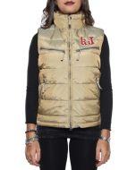 KEJO 7508U561CO NOCCIOLA piumino smanicato giacca donna