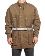 BELSTAFF XL500 REPLICA JACKET VERDE MILITARE 710570 giacca invernale uomo