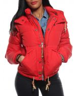 RALPH LAUREN Y 9230 A68AA ROSSO giacca invernale piumino donna