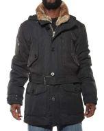 CANADIENS DELTON NERO CH0100 giacca invernale uomo