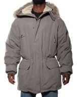 CANADIENS NORDWIN GRIGIO C50111 giacca invernale piumino uomo