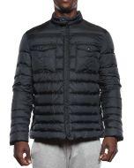 PEUTEREY BENQ PEU1724 NAVY giacca piumino invernale uomo