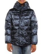 PEUTEREY ESSEX BLU METALLICO giacca invernale piumino bambino