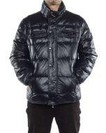 FRED PERRY PIUMINO TRAPUNTATO NERO 30702041 giacca invernale piumino uomo