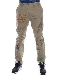 SCOTCH & SODA 1401-02.80032 BEIGE pantalone uomo