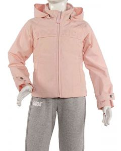 WOOLRICH GIRL LOGO PEAK ROSA PESCA WKCPS1072 giacca leggera primavera/estate ragazza