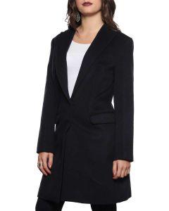 LAVIA 18 2C10010C BLU cappotto lungo giacca invernale donna