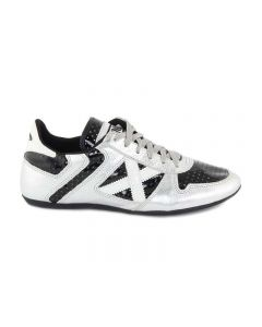 MUNICH ACROPOL NERO LUCIDO/ARGENTO 001585-20495 Sneakers Uomo