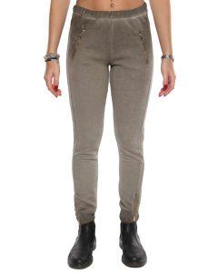 DIMENSIONE DANZA 5E277F025 VERDE pantaloni leggings donna
