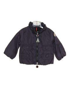 MONCLER BABY PDSI24 BLU NOQ50 giacca leggera primavera/estate bimba