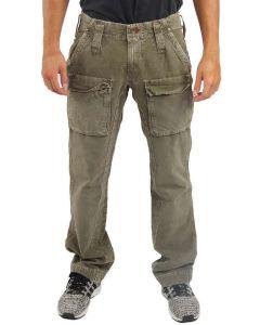 JAGGY CLIFFORD 1012A500459 VERDE MILITARE pantalone invernale uomo