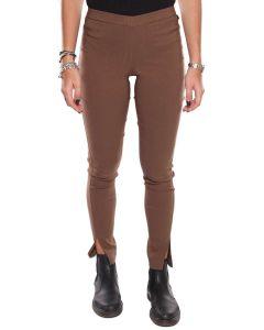 TWIN SET S4/T/T2S4ZC MARRONE Leggins pantaloni donna