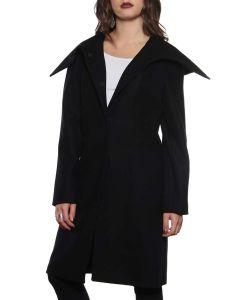 LAVIA 18 2C10010C NERO cappotto lungo giacca invernale donna