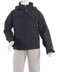 WOOLRICH GIRL LOGO PEAK NAVY WKCPS1072 giacca leggera primavera/estate ragazza