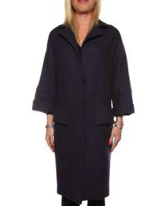 LABORATORIO 448 COAT BLU cappotto giacca donna