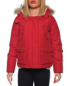 FREEDOMDAY FUR ST.MORITZ PARKA IFRW103L ROSSO giacca invernale donna