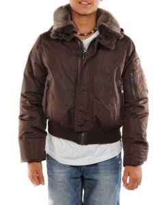 PEUTEREY MERCURY KID MARRONE giacca invernale bambino