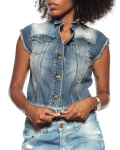 CYCLE GIACCA 20DGC207T BLU JEANS Donna