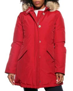 WOOLRICH W'S ARCTIC PARKA WWCPS1446 CN02 RED ROSSO Donna