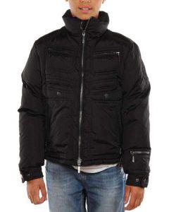 MONCLER NERO LUSB27N0Q50 giacca invernale piumino bambino
