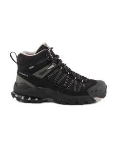SALOMON 3D FASTPACKER MID GTX 108710 BLACK ALUMINIUM trekking scarpe donna