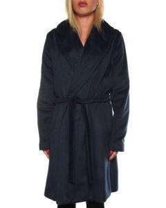 LABORATORIO 436 COAT BLU cappotto giacca donna