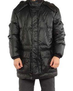BELSTAFF DANBURY PARKA MAN BLACK 710773 giacca invernale piumino uomo