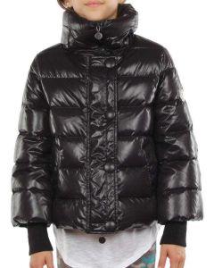 MONCLER TULSA NERO LDSE09 NOT44 giacca invernale piumino bambina
