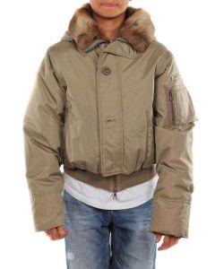 PEUTEREY MERCURY NEPTUNE BEIGE giacca invernale bambino