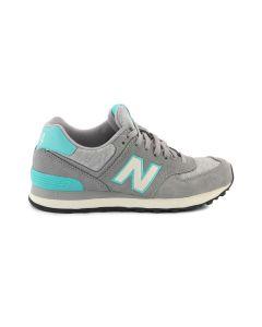 NEW BALANCE WL574PGR GRIGIO sneakers scarpe donna
