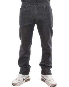 PAUL & SHARK NERO DENIM I08P0488 pantaloni invernali uomo