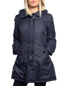 FREEDOMDAY LIGHT PARKA IFRW6007N BLU giacca invernale piumino donna