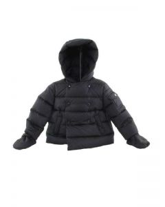 MONCLER BABY BLU PUS001 N0A73 40049 giacca invernale piumino bambina