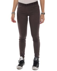 DEHA B82597 MARRONE leggings pantaloni donna