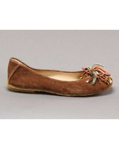 CLARKS ORIGINALS IMPERIAL ROSE MARRONE 20323917 4 D Scarpe Donna Ballerina pelle scamosciata