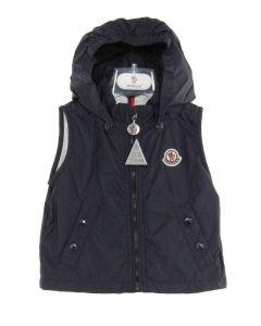 MONCLER BABY PUSU77 BLU NO707 giacca senza maniche leggera primavera/estate bimbo