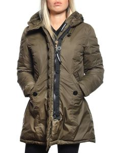 FREEDOMDAY LIGHT PARKA IFRW6007N VERDE giacca invernale piumino donna