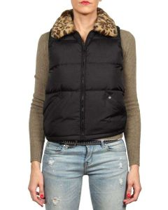 RALPH LAUREN DOWN JACKET 7254902DOWJK NERO giacca invernale smanicato piumino donna